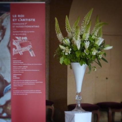 Fleuriste hall accueil