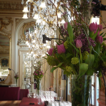 Fleuriste pour reception