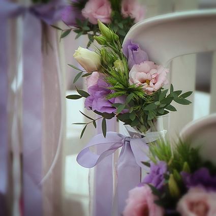 composition floral de table