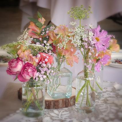 Habillage floral