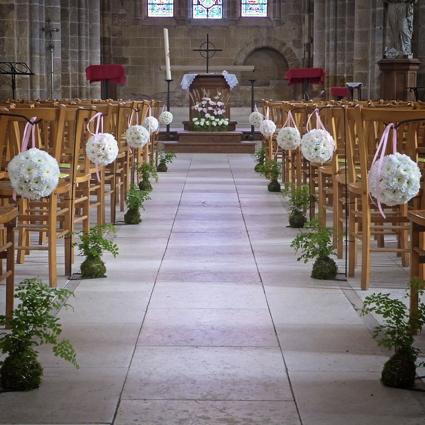 Aimer pleione design floral en seine et marne - Decoration eglise mariage ...